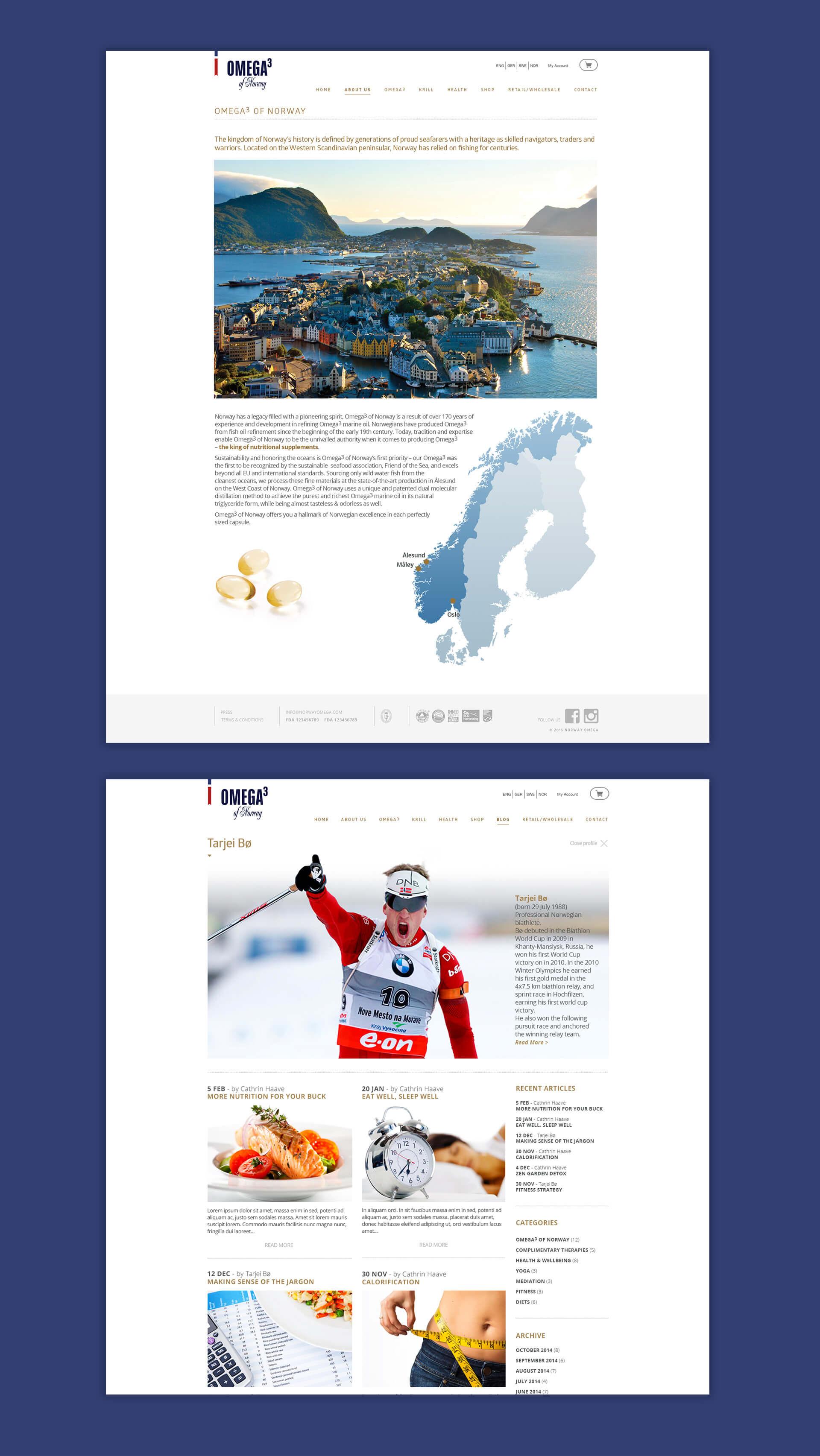 Norway Omega