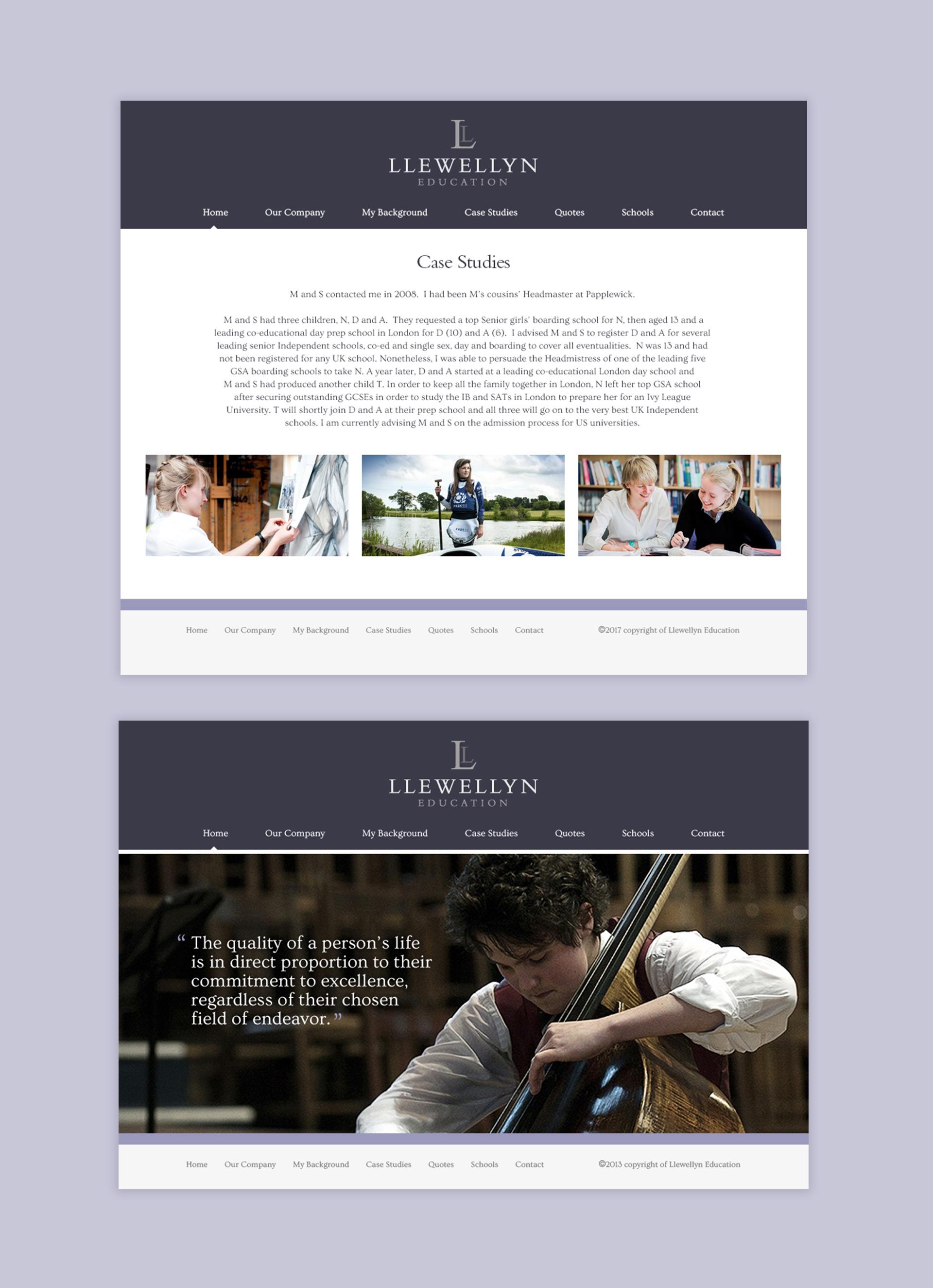 Lllewlyn education website